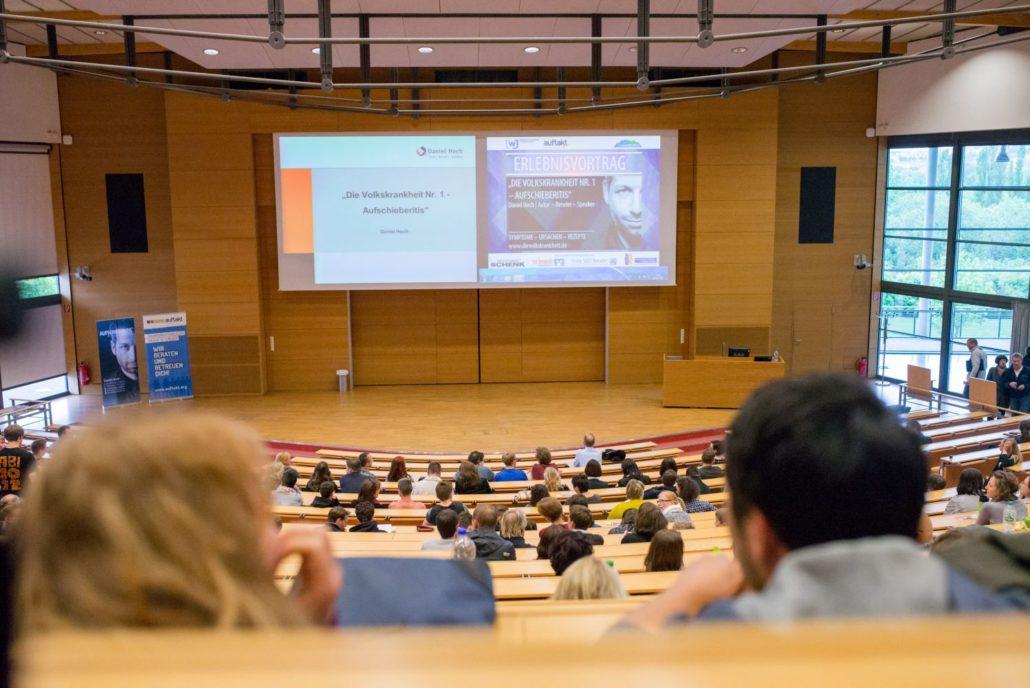 Vortrag Aufschieberitis für Studenten