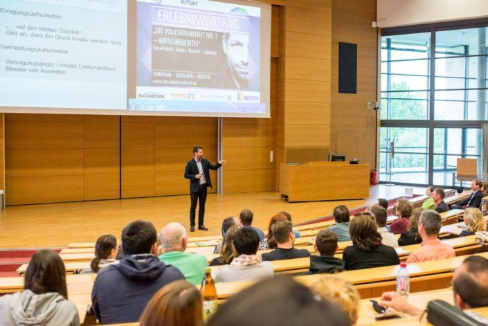 Speaker Daniel Hoch zu Besuch an der TU Ilmenau